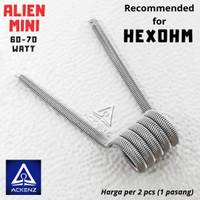 Alien Fused Clapton MINI - Kawat Coil Baby Alien by ackenz store