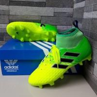 sepatu bola anak adidas comtrolskin kids high kuning hijau baru