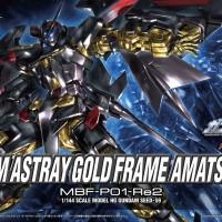 HG HGCE BANDAI GUNDAM ASTRAY GOLD FRAME AMATSU MINA