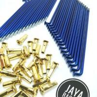 Jari Jari Biru gold Model TDR ready motor Ring 14 - 16 -17 -18 Terse