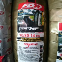 ban FDR 90/80-14 MP27 (Ban Balap Soft compound) untuk motor matic