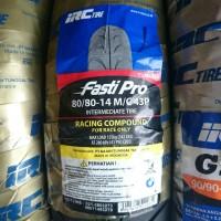 Ban IRC Fastipro 80/80-14 (Ban Soft compound Balap ring 14 untuk mati