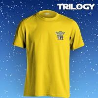 Kaos Brand Trilogy Movie Yoda Star Wars Tshirt T-shirt