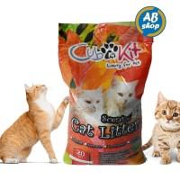 Pasir kucing wangi gumpal cub n kit 20kg / cat litter