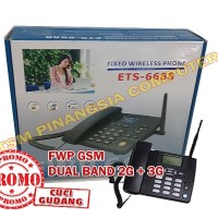 Telepon GSM FWP ETS6688 Telepon Rumah Fixed Wireless Phone