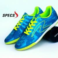 Sepatu Olahraga Futsal Specs Barricada Ultima Biru Hijau