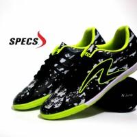 Sepatu Olahraga Futsal Specs Barricada Ultima Hitam Hijau