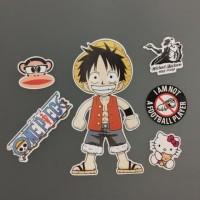 Sticker / Stiker Koper / Tempelan One Piece / Hiasan Aksesoris Tas