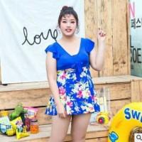 Baju renang wanita big size terbaru swimsuit new