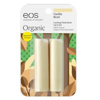 EOS Organic Lip Balm Vanilla Bean 2Pack 8gr