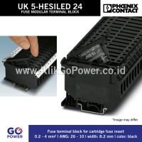 Phoenix Contact - Fuse modular terminal block - UK 5-HESILED 24