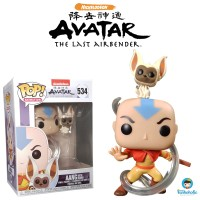 Funko POP! Animation Avatar The Last Airbender - Aang with Momo #534