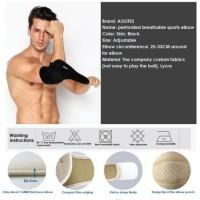 AOLIKES Elbow Support Pelindung Siku Bandage Wrap Gym Yoga Protector
