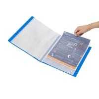 Bantex Display Book 60 Pockets Folio Cobalt Blue #3187 11