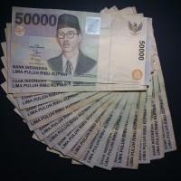 Uang Kuno 50000 Soepratman