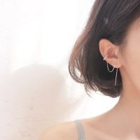 Dear Me - Claire Earrings (925 Sterling Silver with Gold Plating)
