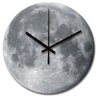 Jam Dinding Unik Artistik - Moon Wall Clock