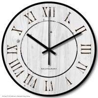 Jam Dinding Unik Artistik - Palewood Wall Clock
