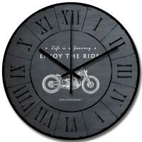 Jam Dinding Unik Artistik - ENJOY THE RIDE - Wall Clock