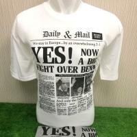 Kaos Oblong Pria T-shirt Motif Koran - Yes