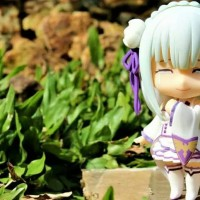 Action Figure Nendroid Emilia Anime Re Zero