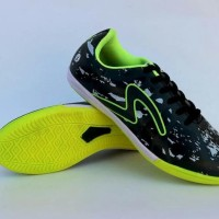 Keren Sekali Sepatu Futsal Pria Specs Barricada Ultima Hitam Hijau