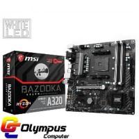 New Motherboard MSI A320M Bazooka Socket AM4 AMD Byhde325