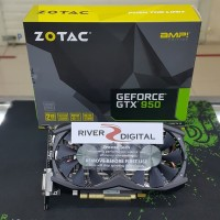 TERLARIS VGA CARD Zotac GTX 950 AMP 2GB DDR5 ExoArmor Icesto Byhde1729