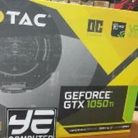 DISKON BESAR Zotac GeForce GTX 1050 Ti 4GB DDR5 OC YE COMPUT Byhde1724