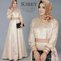Gamis Tunik Fashion muslim gamis kirey dress embos baloteli