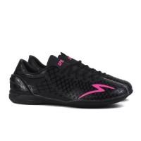 Sepatu Futsal Specs Accelerator Exocet IN - Black / Beat Magenta