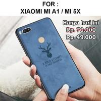 Case Xiaomi Mi A1 Mi 5X - MiA1 Mi5X softcase casing cover jeans DEER