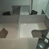 meja cubicle / meja kerja / stationery / office / meja partisi
