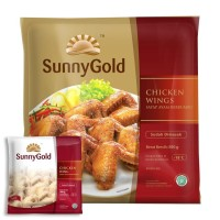 Sunny Gold Spicy Wings 500g