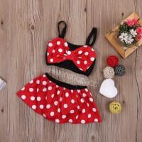Baju renang anak bayi baby swimsuit swimwear MinnieMouse bikini import