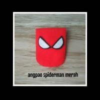 angpao / dompet flanel spiderman