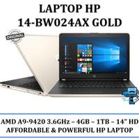 HP 14-BW024AX GOLD AMD A9-9420 - 4GB- 1TB- AMD RADEON 520 2GB