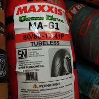 MAXXIS 80/80-17 MA G1 TUBELES BAN MOTOR BEBEK DEPAN RING17