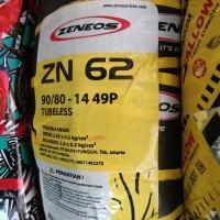 ZENEOS 90/80-14 ZN62 TUBELES BAN MOTOR MATIC DPN BLK RING 14