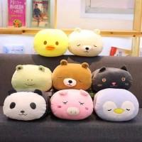 Boneka Bantal Handwarmer Penghangat Tangan Babi Panda Imlek CNY