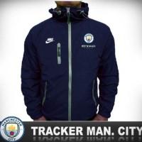 PUSATJAKETCLUBBOLA Jaket tracker windbreaker Manchester City
