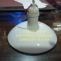 FITTING RUMAH LAMPU GANTUNG KAP WD E27