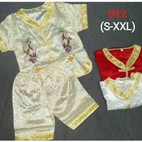 Setelan Baju Imlek Anak Laki-laki Import