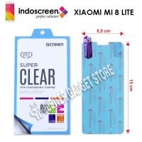 Indoscreen iScreen Anti Gores Xiaomi Mi8 Lite / Mi 8 Lite - Clear