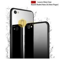 Xiaomi Redmi Note 5A (non Finger) Soft Case Back Cover Glass Shining