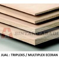 Tripleks Papan Kayu Lapis 18 mm Ukuran 60 x 120 cm Multiplex Meranti