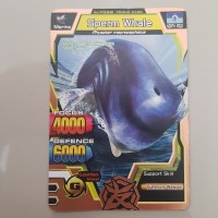 Animal Kaiser S2 - Friend Card Sperm Whale