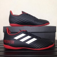 Baru Sepatu Futsal Adidas Predator Tango 18.4 Black Red DB2136 Ori
