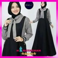Baju Gamis Syari Terbaru / Pakaian Wanita Remaja Kombinasi Modern