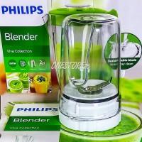 GELAS BUMBU SET ORI BLENDER PHILIPS HR-2115,HR-2116,HR-2061,HR-2071